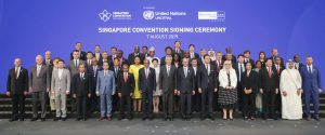 Signees of the Singapore Convention Aug 2019